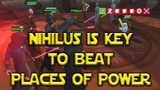 Star Wars: Galaxy Of Heroes - Places Of Power Darth Nihilus FTW