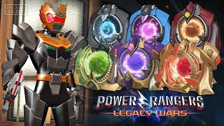 Power Rangers: Legacy Wars - LAZER TAG TIME & Opening 9 BOXES!!