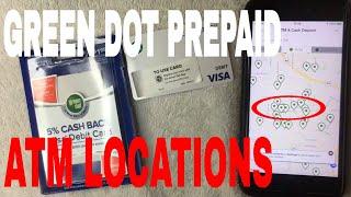 ✅  Green Dot Prepaid ATM Locations 🔴