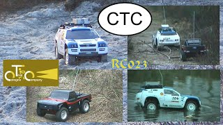 Ford F150 and VW Touareg - 4x4 - Founding the CTC in 2007 - Scale - RC 023