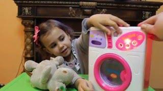 Большая стирка! | Baby washing machine