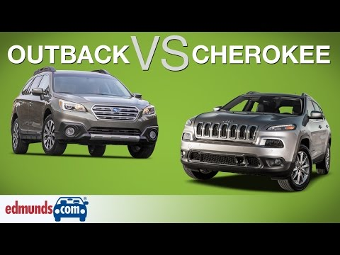 Subaru Outback vs Jeep Cherokee | Off-Road Wagon Takes on an Off-Road SUV