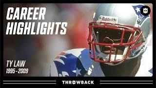 "Ty Law's ""Big Game Performer"" Career Highlights! | NFL Legends"