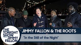 Jimmy and The Roots Sing Doo-Wop Under the Brooklyn Bridge
