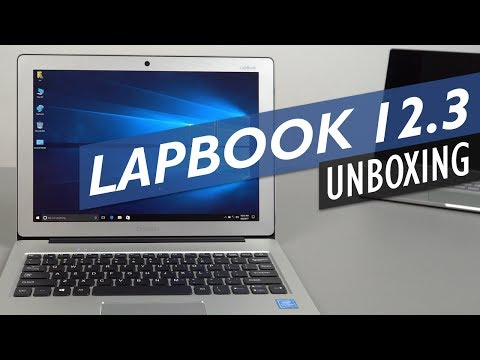 Chuwi Lapbook 12.3 Unboxing Hands-On Review. Laptop With Surface Pro 4 Screen