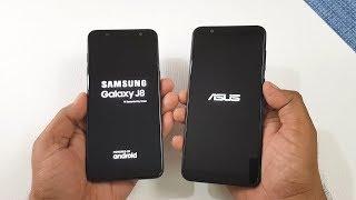 Samsung Galaxy J8 vs Asus Zenfone Max Pro M1 Speed Test !
