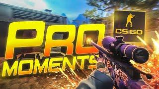 TOP 5 LEGENDARY PRO MOMENTS (CS:GO)