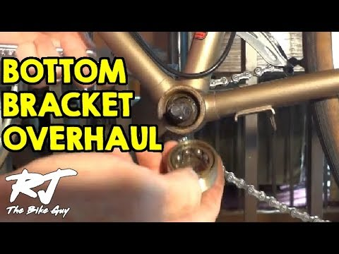How To Overhaul A Bike Bottom Bracket - Remove/Clean/Install New Bearings Mp3