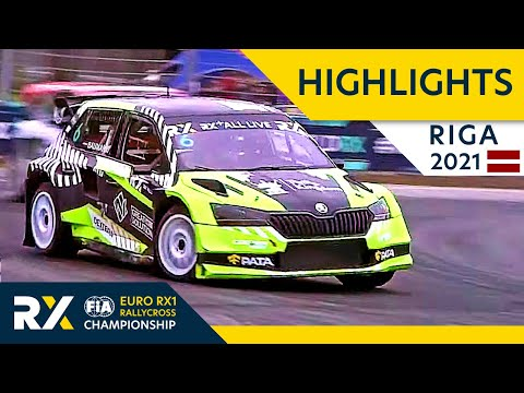 世界ラリークロス 第5戦ラトビア(リガ)2021年 EuroRX1 決勝ハイライト動画