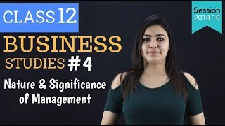 #4 Nature of Management chapter 1 - Class 12