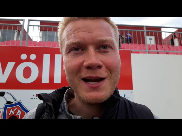 Andri Ólafs: Ekkert töff við það að þora að spila fótbolta í 4-0