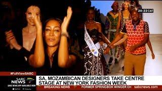 'Made in Africa' designers take on New York Fashion Week