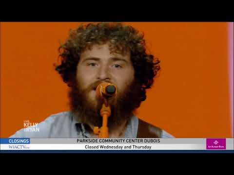 "Mike Posner Sings ""How It's Supposed To Be"" Live On Kelly And Ryan 2019. HD 1080p"