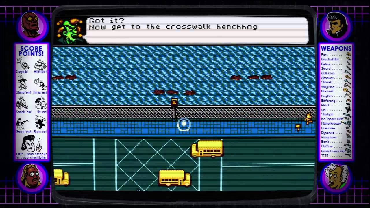 13 Minutes Of Retro City Rampage, Countless Clever References To Other Video Games