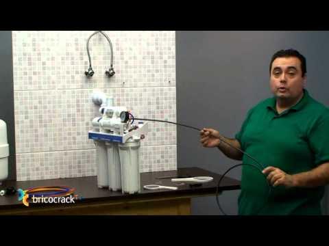Instalar un purificador de agua en casa (Bricocrack)