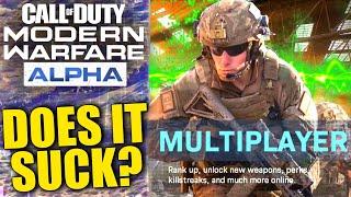 HONEST IMPRESSIONS of Modern Warfare's Multiplayer Alpha... (Call of Duty 2019)