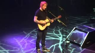 Ed Sheeran - We Are, live in Paris 11/27/14