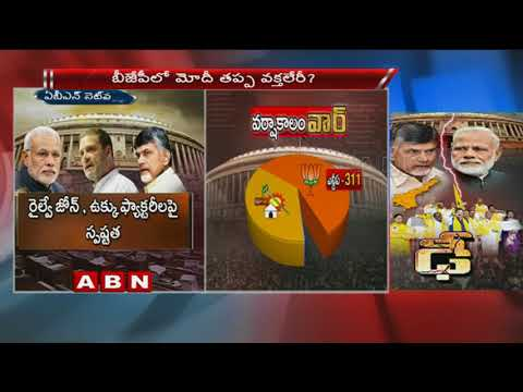 Opposition Parties Back TDP's No-trust motion Against Centre | Voting on No-trust motion tomorrow