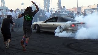 KICKING a Camaro out of the DONUT Pit!!