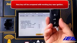 Skoda Super B 2015 Proximity (Keyless Go) Key Programming with Zed FULL