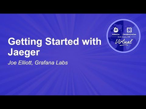 Image thumbnail for talk Getting Started with Jaeger