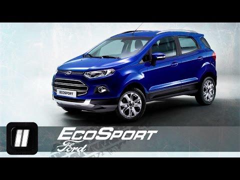 Ford  Ecosport Паркетник класса J - тест-драйв 1