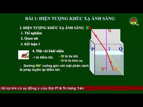 Môn Vật lý 9 - bài 1