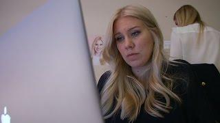 En Dag På Jobbet Med Blondinbella - Nyhetsmorgon (TV4)