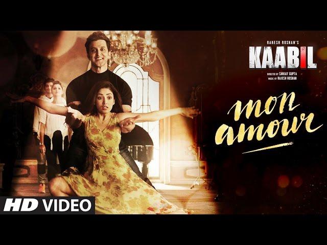 Mon Amour Video Song | Kaabil Movie Songs | Hrithik Roshan, Yami Gautam