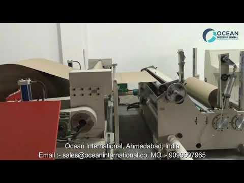Jumbo Roll Slitting Rewinding Machine