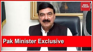 Rahul Kanwal Grills Pak Minister, Sheikh Rasheed Over Pulwama | India Today Exclusive Interview