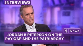 Jordan Peterson being interviewed by Cathy Newman