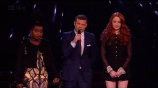 The Girls face the Judges' vote - The X Factor 2011 Live Results Show 8 (Full Version)