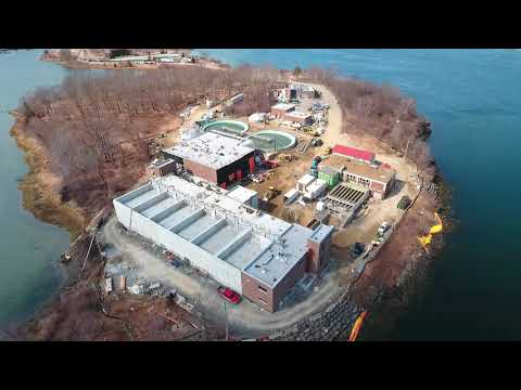 March 2019 Aerial Progress Video Peirce Island WWTF Project