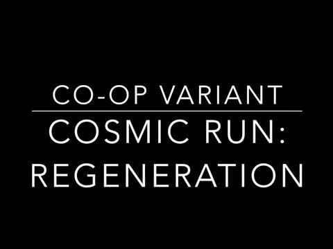 Co-operative Variant Playthrough of Cosmic Run: Regeneration