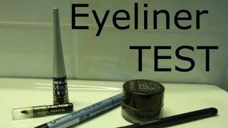 Eyeliner-Test - Kajal, Liquid, Pen oder Gel?