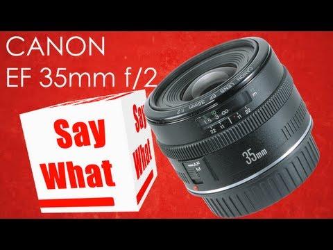 Canon EF 35mm f/2 Objektiv