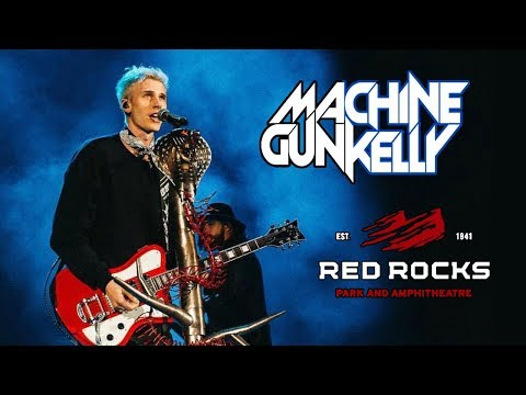 MACHINE GUN KELLY LIVE AT RED ROCKS AMPHITHEATRE!! | FULL SET & FRONT ROW
