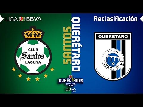 Resumen y Goles   Santos vs Querétaro   Liga BBVA MX - Guard1anes 2021 - Reclasificación