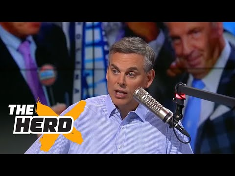 Colin Cowherd reacts to ref backlash and UNC win in National Championship game | THE HERD