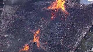 Video Now: Jim Beam distillery fire