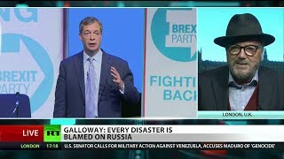 """Galloway: """"Nigel Farage has been on BBC more than any other political leader"""""""