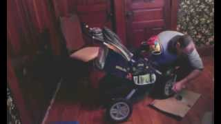 Jeep Liberty Urban Terrain Baby Stroller Assembly And Review