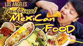 TRADITIONAL Mexican STREET FOOD Tour of Los Angeles
