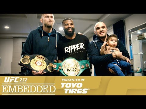 UFC 232 Embedded: Vlog Series - Episode 2