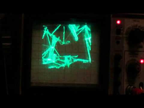 Playing Quake on an oscilloscope
