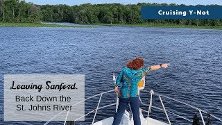 St. Johns River Cruise - Florida, Sandford to Jacksonville Northbound | Motor Yacht Y-Not