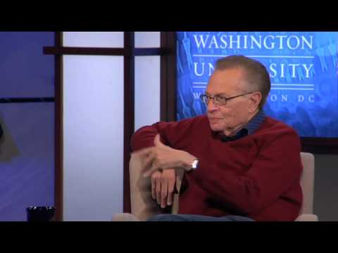 Larry King - Interviewing Presidents (5 of 7)