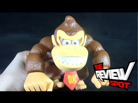 Toy Spot - Jakks Pacific World of Nintendo Donkey Kong Country Donkey Kong