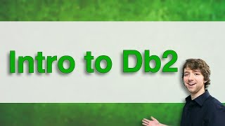Db2 SQL Tutorial 1 - Intro to Db2